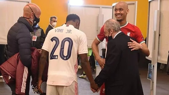 The chat between Florentino Perez, Fabinho and Vinicius: What a player you have...